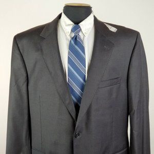 NEW Jos A Bank Signature Gold 44 R 2 Button Wool